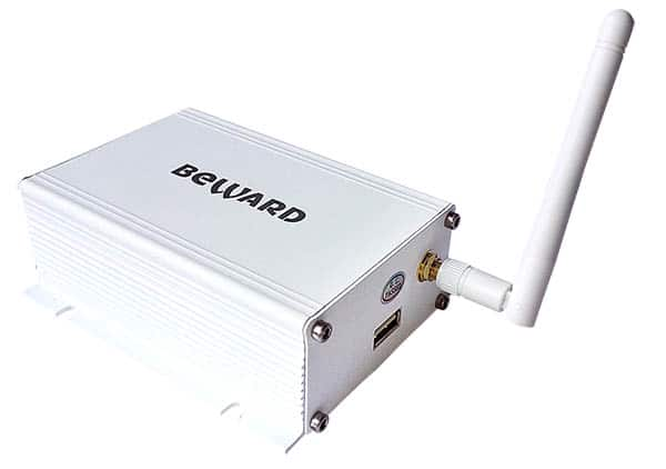 Analog to IP converter box with Wifi