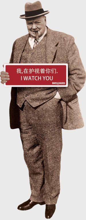 Cherchill Man endorsement for beward