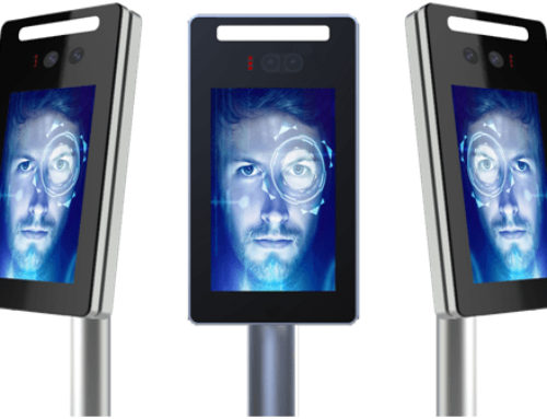 Beward New 7 inch Two Cameras Real Time Human Body Detection Face Recognition Terminal gate